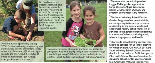 Goosefoot School Garden Campaign 3