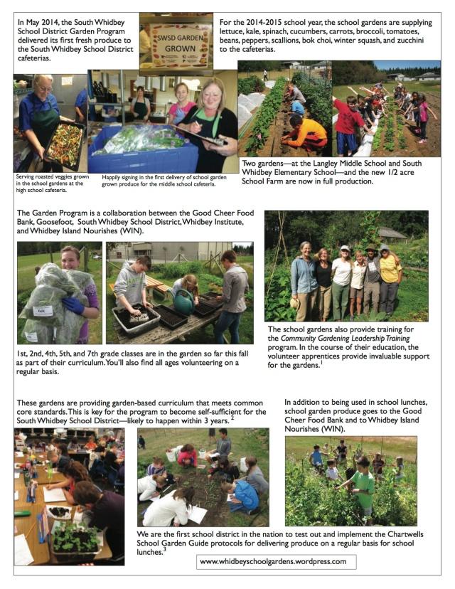 Goosefoot School Garden Campaign copy