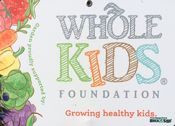 Whole Kids Foundation sign