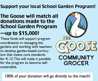 Goosefoot donation info
