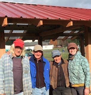 harvest shed building crew