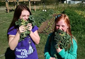 kale eating fifth grade3 IMG_20150916_105552269