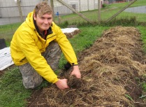 Michael Ferncase, School Farm Production Apprentice